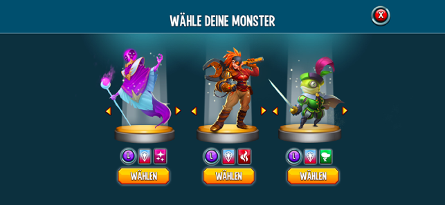‎Monster Legends: drachen kampf Screenshot