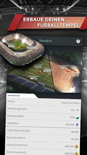 Goal One - Der Fußball Manager Screenshot