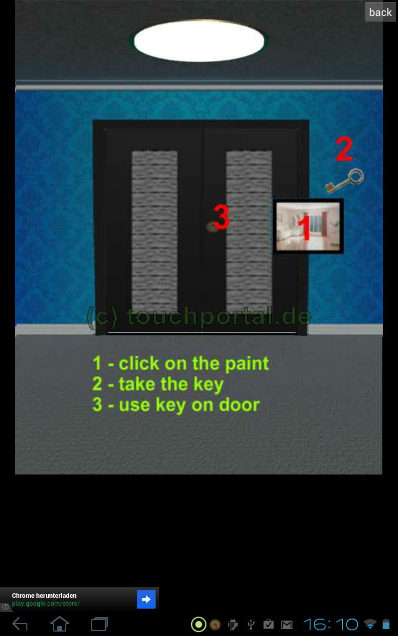 100 doors level 1 2 3 4 5 6 7 8 9 10 l sung anleitung video walkthrough apps. Black Bedroom Furniture Sets. Home Design Ideas