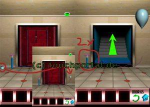 100 Doors Level 65 Lösung