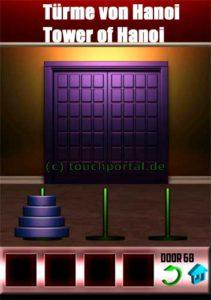 100 Doors Level 68 Lösung