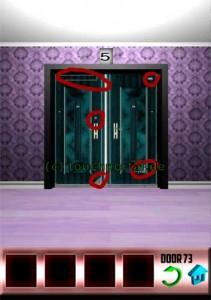 100 Doors Level 73 Lösung