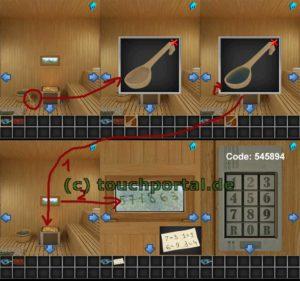 100 Rooms Level 26 Lösung - Schritt 2