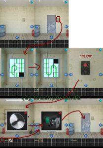 100 Rooms Level 27 Lösung - Schritt 2