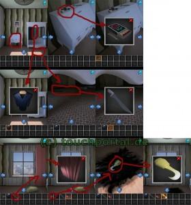 100 Rooms Level 30 Lösung - Schritt 1