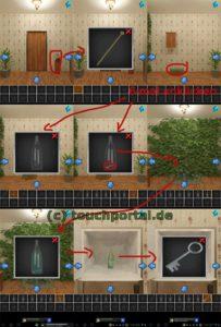 100 Rooms Level 33 Lösung - Schritt 1