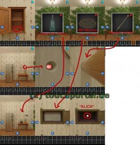 100 Rooms Level 33 Lösung - Schritt 2