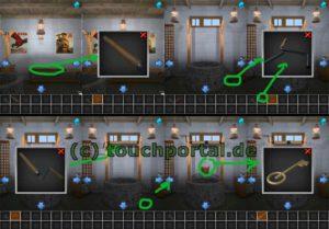 100 Rooms Level 34 Lösung - Schritt 2