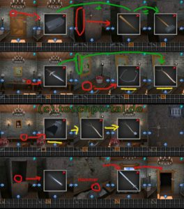 100 Rooms Level 39 Lösung