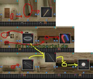100 Escapers Level 3 Lösung - Schritt 1