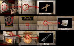 Escape room: Strange House Lösung - Schritt 1