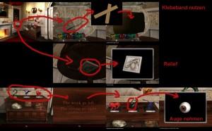 Escape room: Strange House Lösung - Schritt 2