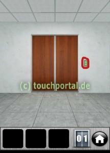 100 Doors 2013 Level 1 Lösung