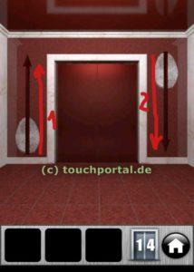 100 Doors 2013 Level 14 Lösung