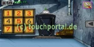 200 Doors Level 17 Lösung