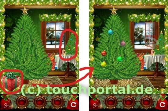 100 Weihnachtsgeschenke Level 9 Lösung