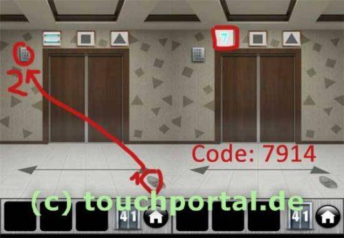 100 Doors 2013 Level 41 Lösung