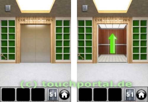 100 Doors 2013 Level 51 Lösung
