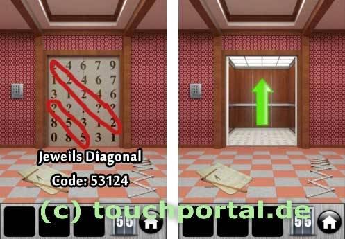 100 Doors 2013 Level 55 Lösung