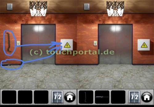 100 Doors 2013 Level 72 Lösung