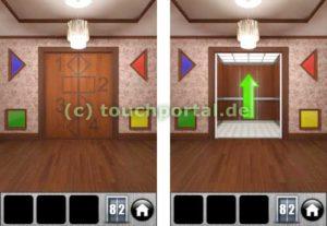 100 Doors 2013 Level 82 Lösung