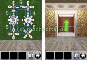 100 Doors 2013 Level 84 Lösung