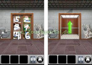 100 Doors 2013 Level 89 Lösung