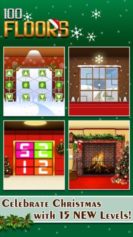 100 Floors L 246 Sung Christmas Alle Level Im Weihnachten