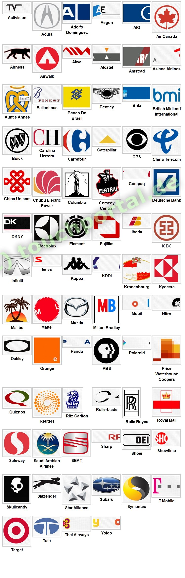 pin logos quiz loesung fuer android and iphone level 2 serbagunamarine on pinterest