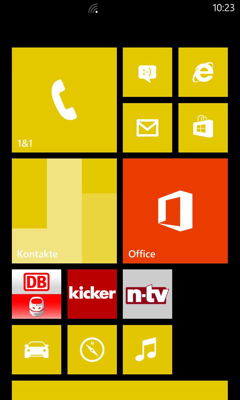 Windows Phone 8: Screenshot vom Bildschirm erstellen ...