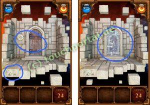 100 Doors Parallel Worlds Level 24 Lösung