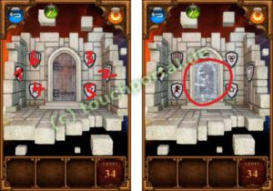 100 Doors Parallel Worlds Level 34 Lösung