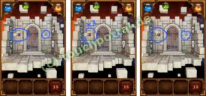100 Doors Parallel Worlds Level 35 Lösung