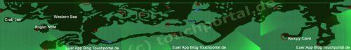 Hungry Shark Evolution Karte / Map - Anklicken zum Vergrößern