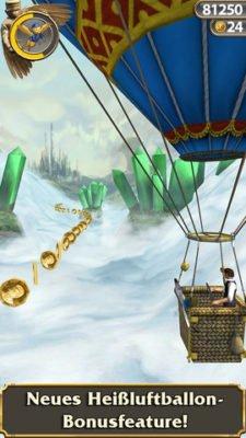 Temple Run Oz Heißtluftballon