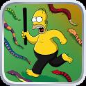 Die Simpsons Springfield Knüppeltag