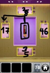 100 Doors Runaway Level 70 Lösung