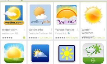 Top 5 Wetter Apps für Android - Kostenlose Must Have App