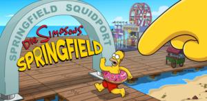 Die Simpsons Springfield Promenanden Grundstücke
