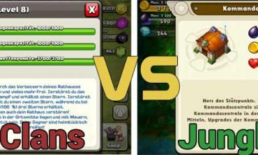 Jungle Heat vs Clash of Clans: Ein Vergleich