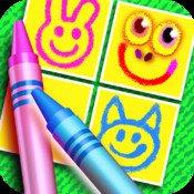 Flippi memo doodle: Memory mit eigenen Karten - Eine Kinder App für iOS