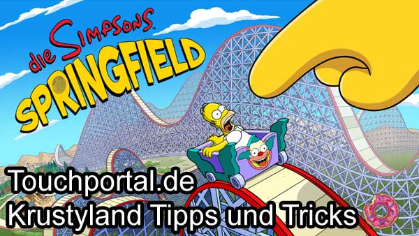 Die Simpsons Springfield: Krustyland Tipps und Tricks