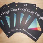 Google Play Karten