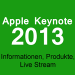 Apple Keynote im Live Stream