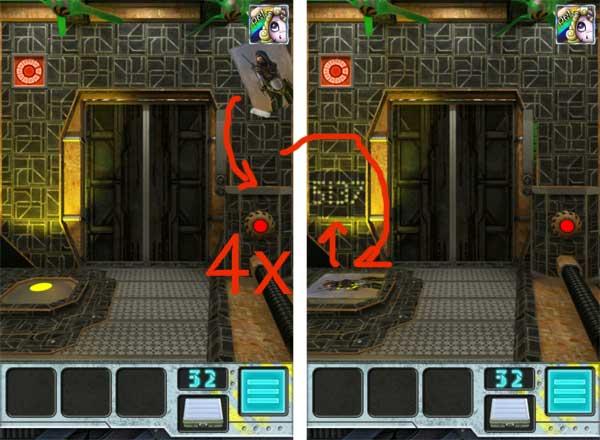 100 doors aliens space level 31 bis 40 l sung touchportal for 100 doors door 32