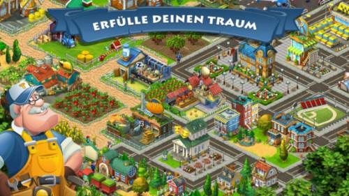 Baue deine Stadt in Township - (c) Playrix