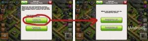 Clash of Clans Verknüpfung - Schritt 2