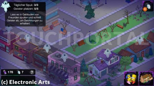 Die Simpsons Springfield App Tipps Tricks Cheats Freunde App  Apps