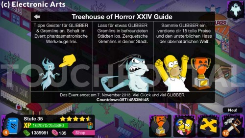 Erklärung des Treehouse of Horro XXIV Event