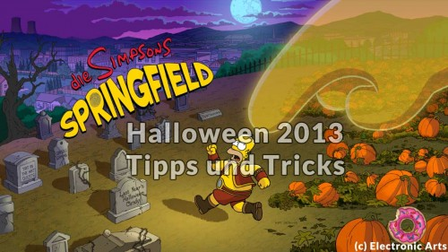 Die Simpsons Springfield - Halloween 2013 Tipps und Tricks - (c) Electronic Arts